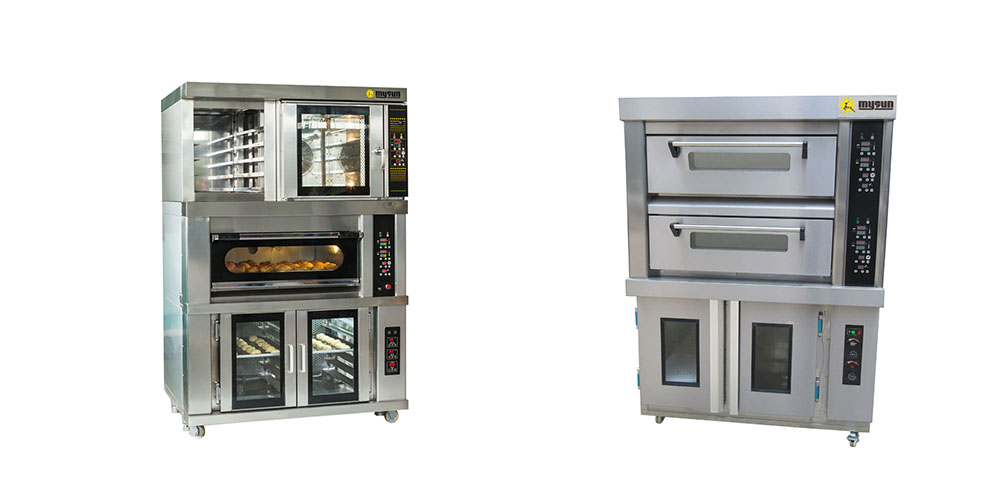 combination oven and baking oven