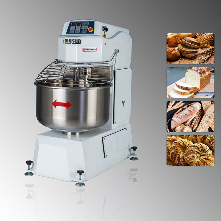 commercial bread spiral dough mixer
