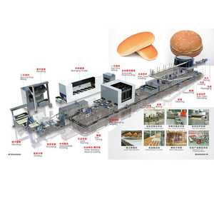 European standard Full automatic bakery production line