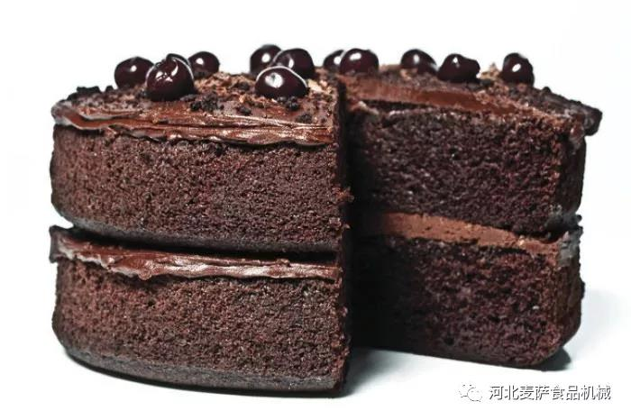 rotary oven baking cake